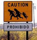 Migrant CrossingSign